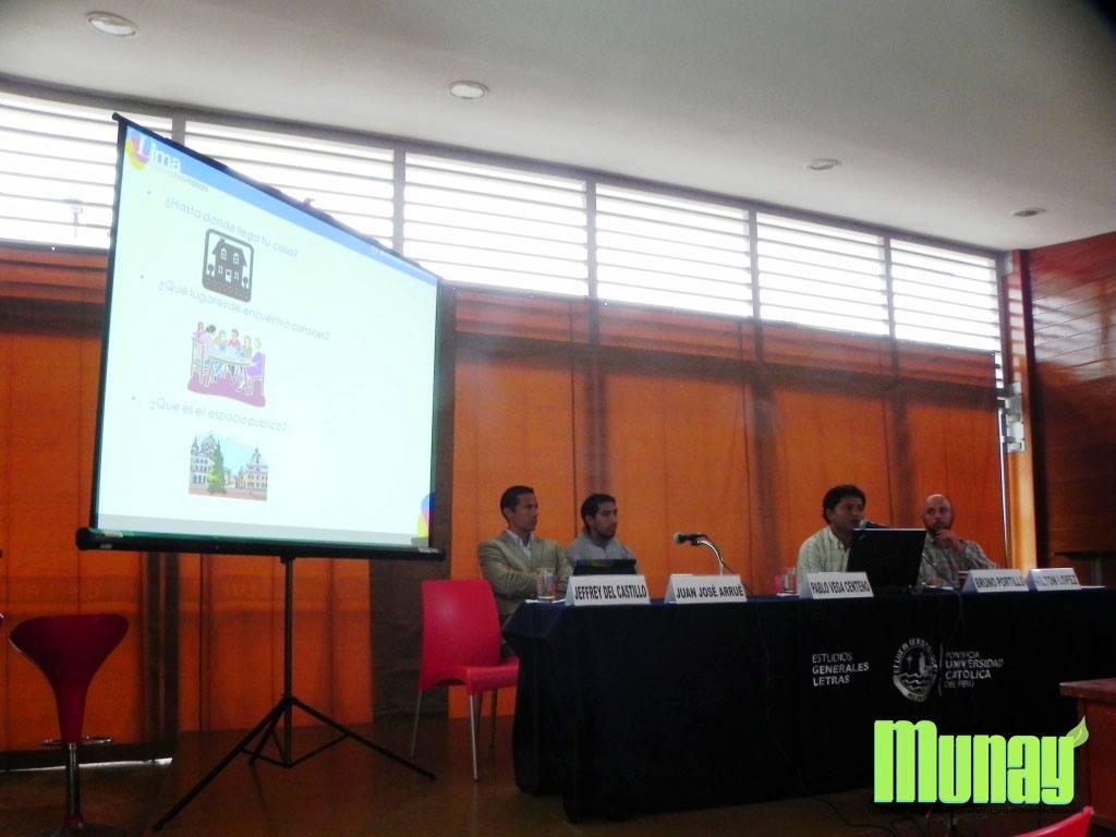 "Conversatorio ""Lima Verde: impulsando el transporte alternativo""."