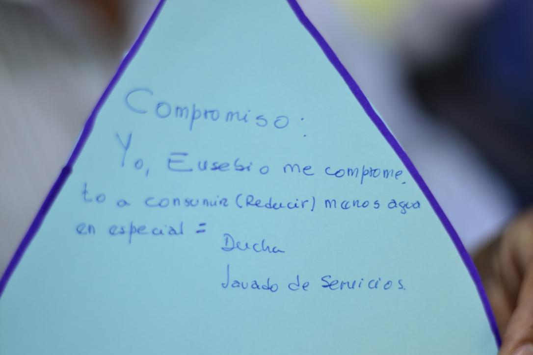 Compromiso de Eusebio (Foto: Katia Yoza).