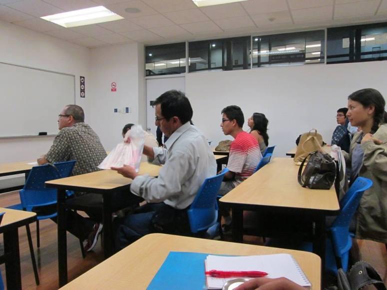 Asistentes al Cine foro (Foto: Miguel Ala).