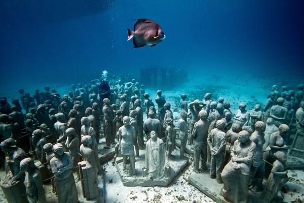 Museo subacuático de Cancún en México o Musa. (Foto: blog.pricetravel.com.mx).