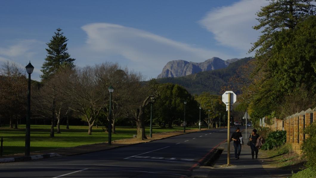 Ciudad de Stellenbosch (Foto:Rodrigo Cabrera).